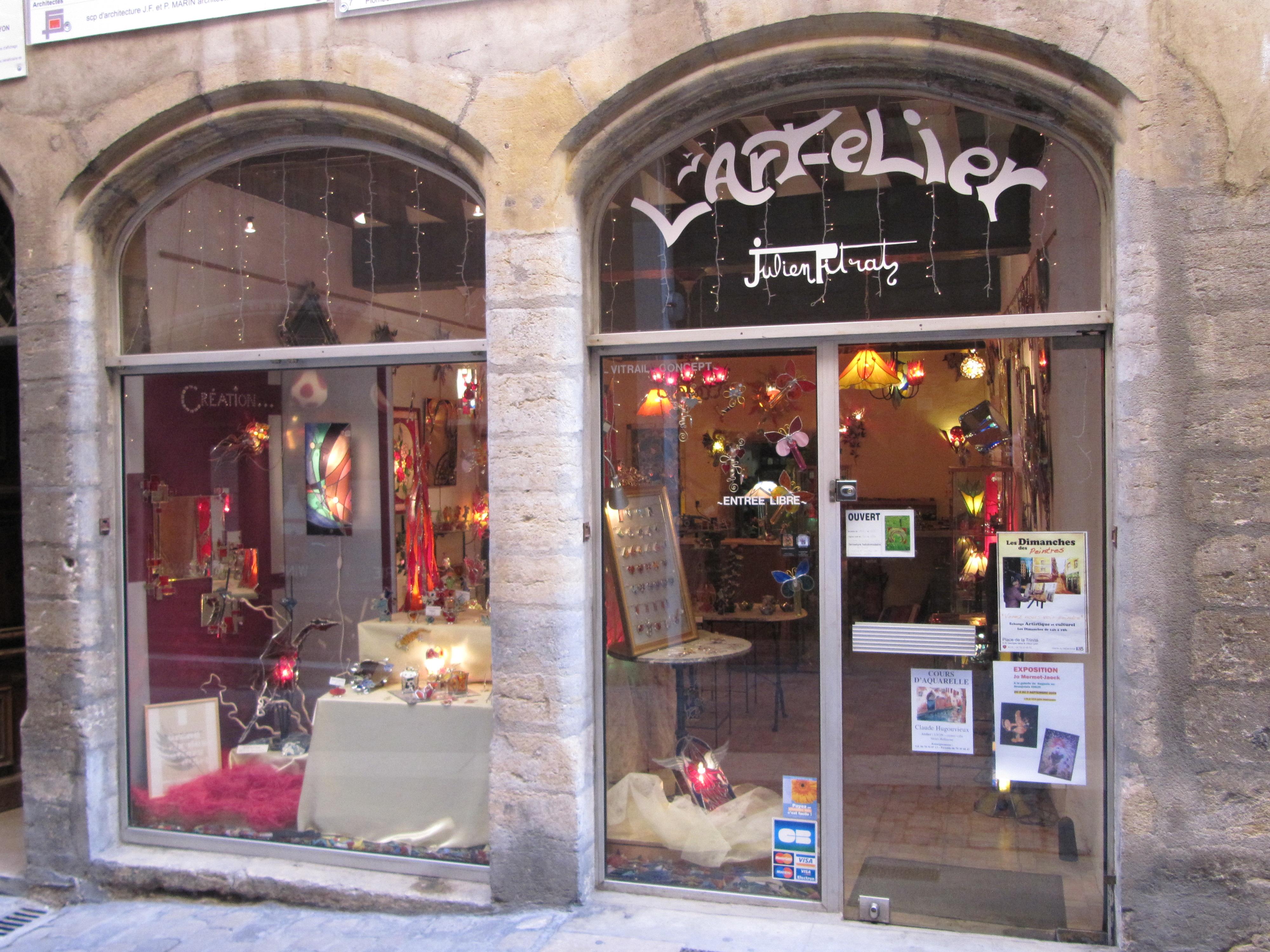 vitrail Lyon