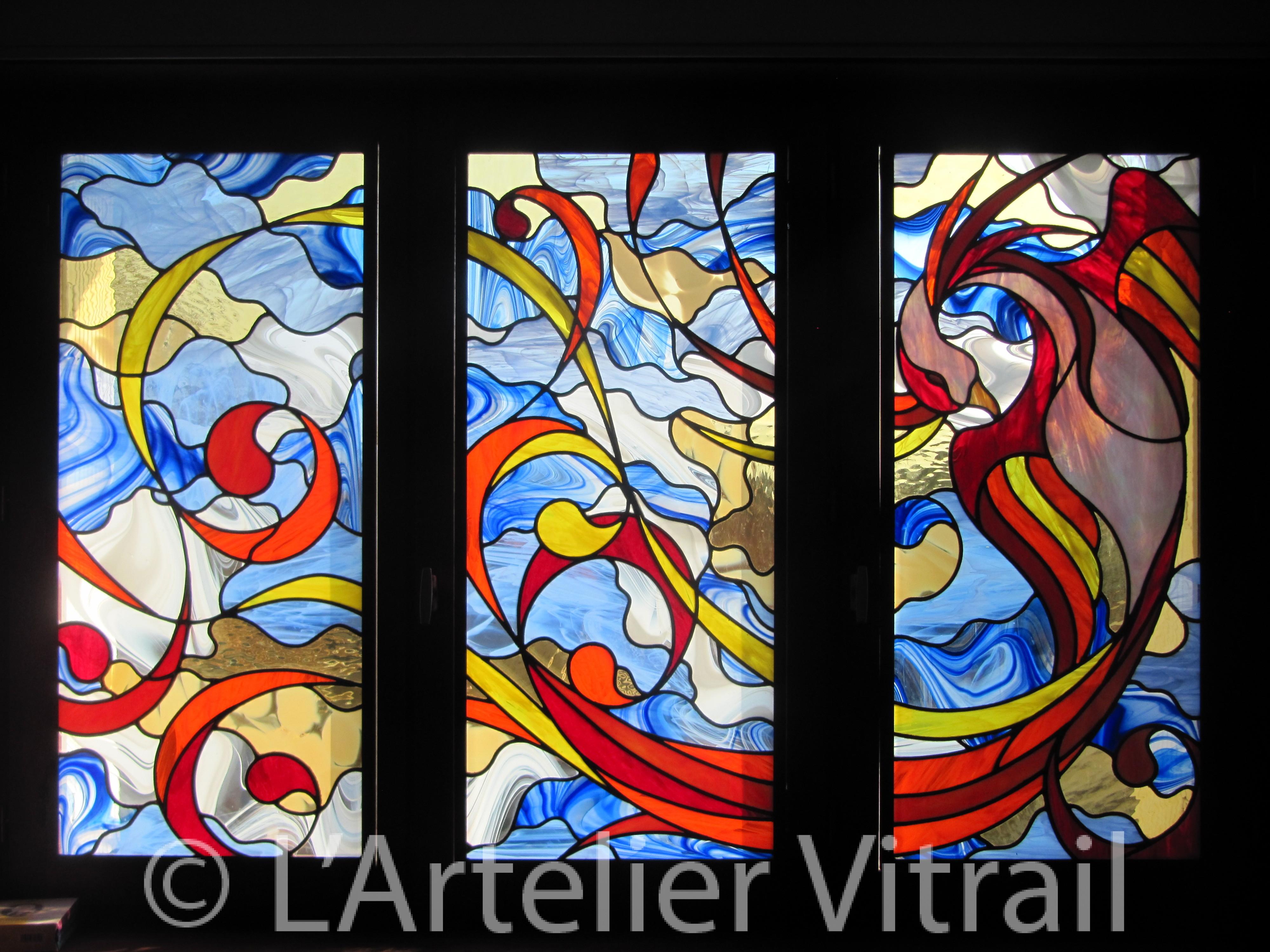 Grande applique murale awesome tr¨s grande applique murale vitrail