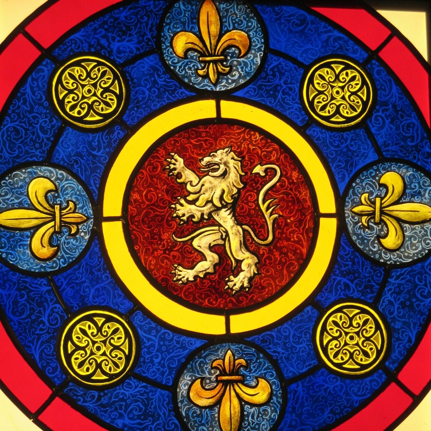 vitrail traditionnel vitrail Lyon