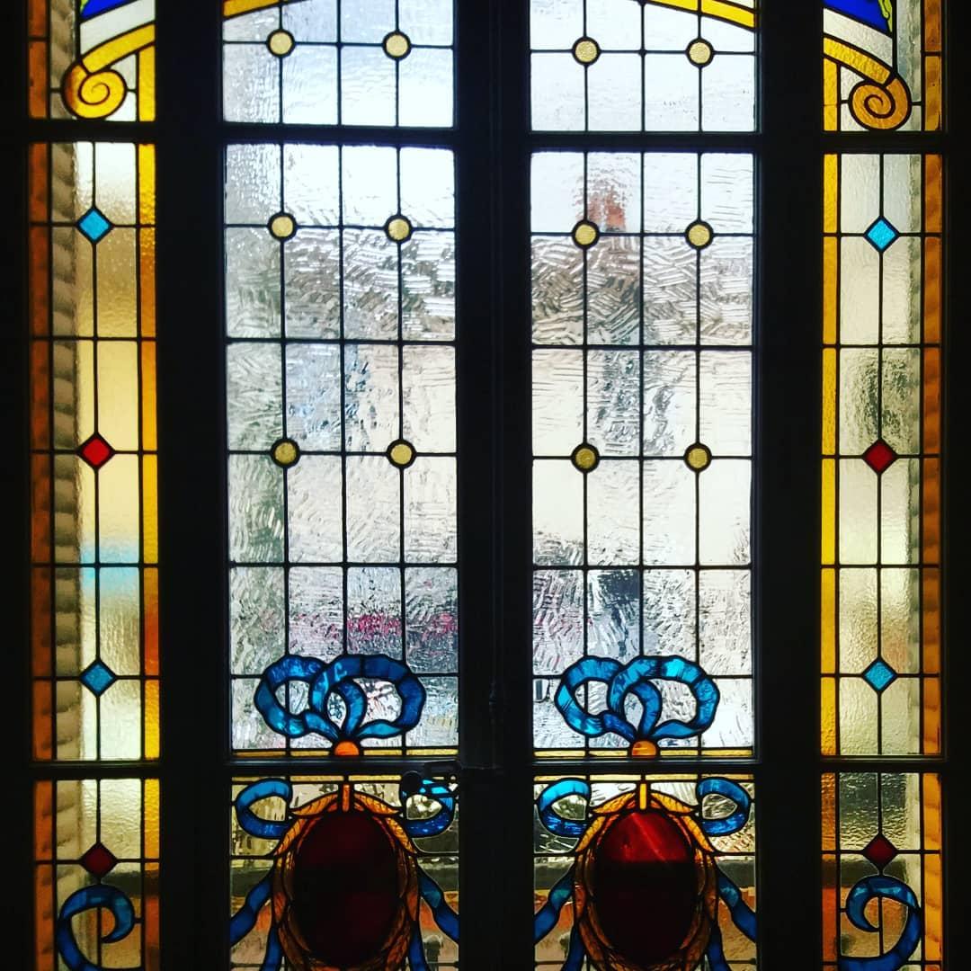 Villa du docteur Long restauration de vitraux